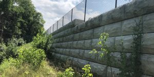 Lakeview Drive Retaining Walls