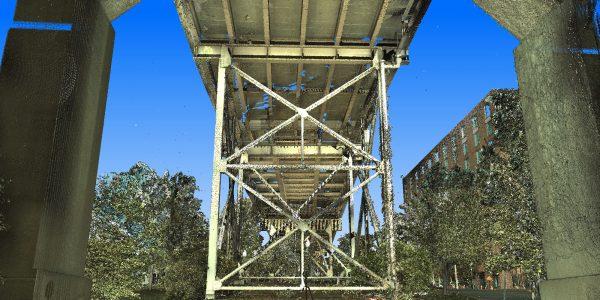 Geospatial Services - 3D Laser Scanning for Bridges - Martin Luther King Bridge