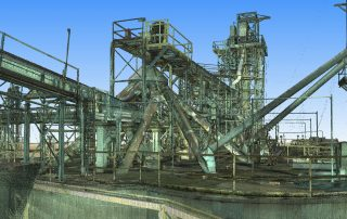 3D Laser Scanning - Industrial Plant 3D Reality Capture