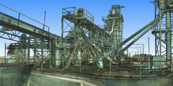 3D Laser Scanning - Industrial Plant 3D Reality Capture