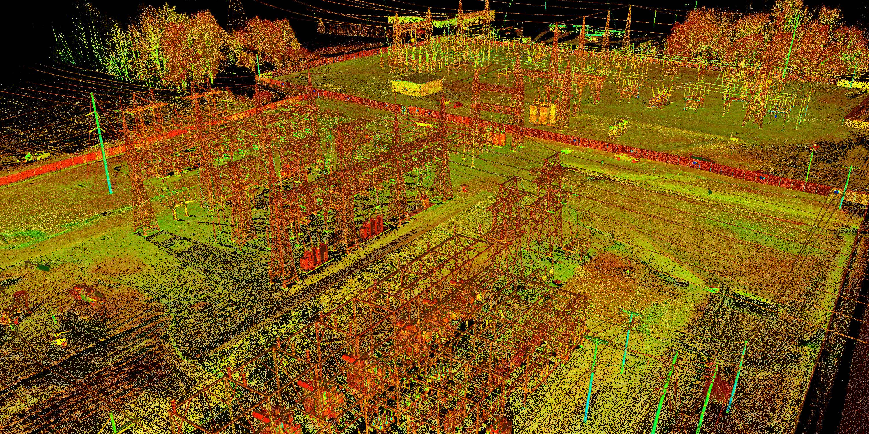 Utility Company 3D Scanning