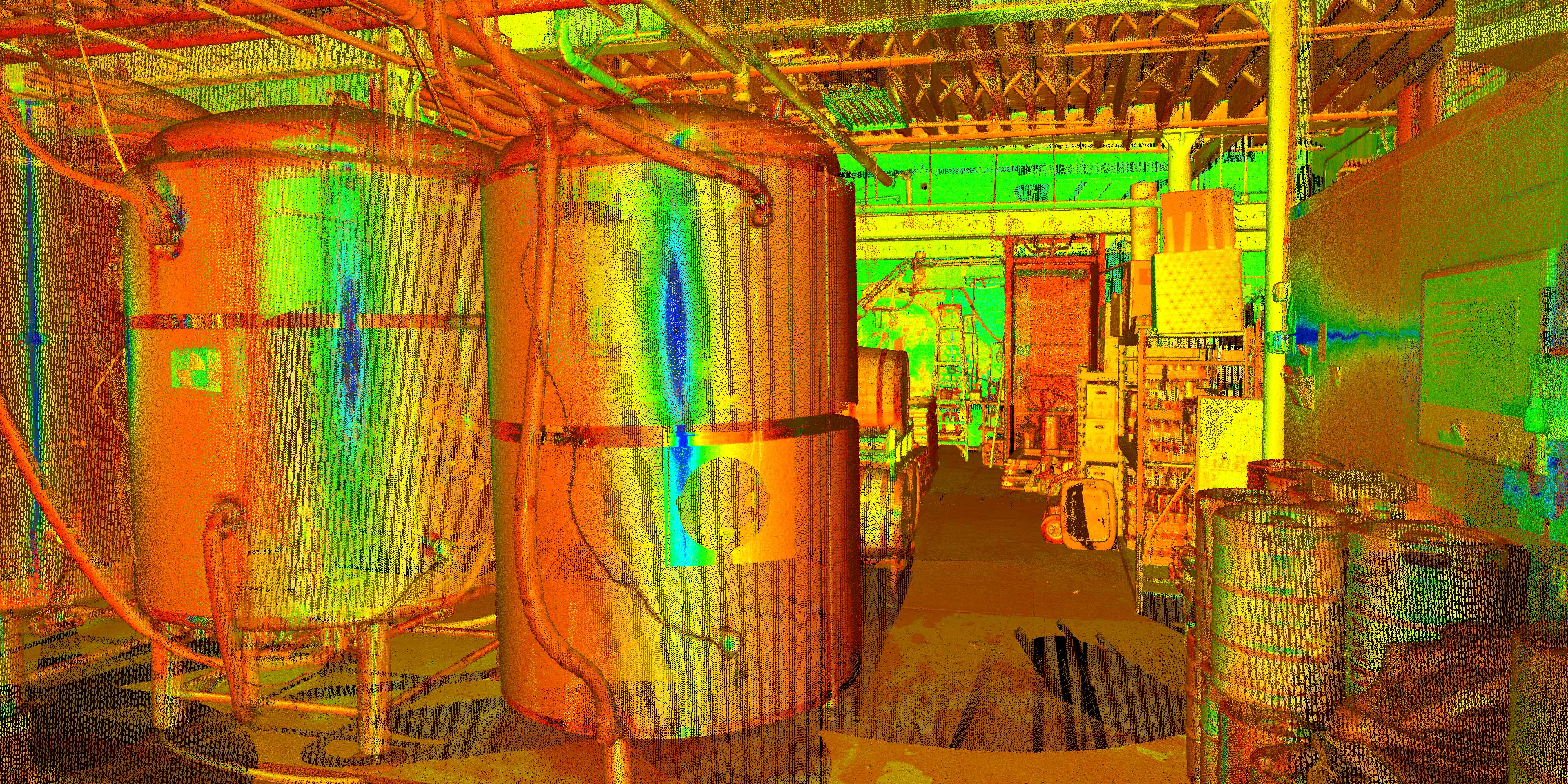 3D Laser Scanning for Breweries - 4 Hands Brewery