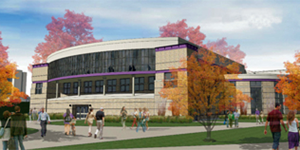 Engineering for Education - Universities & Colleges - Student Center Building Design at Western Illinois University