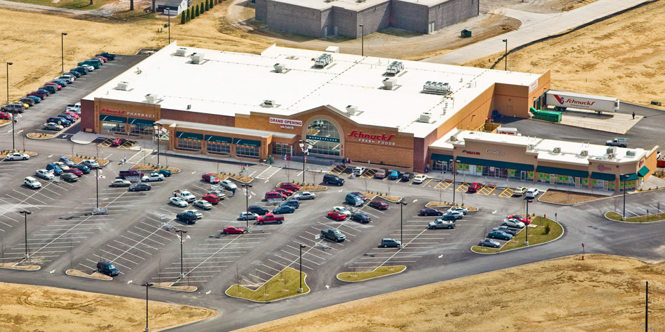 Commercial Development - Retail - Grocery Store Design Services for Schnucks in Waterloo - Land Development