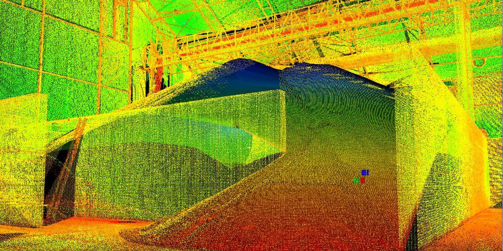 Grain Facility 3D Reality Capture - TWM, Inc.