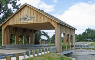 Covered Bridge in Glen Carbon - TWM, Inc.