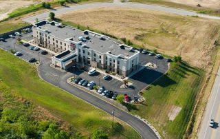 Land Development - Commercial Development - Commercial Civil Engineering Services for the Hampton Inn