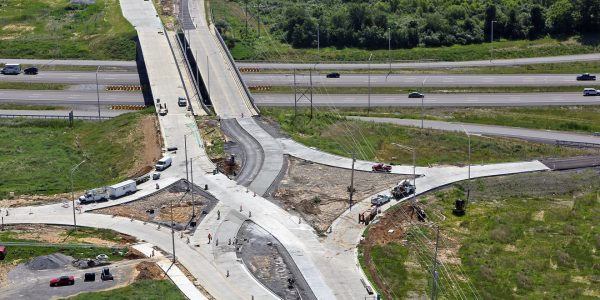 Civil Engineering - TWM, Inc. - Diverging Diamond Interchange