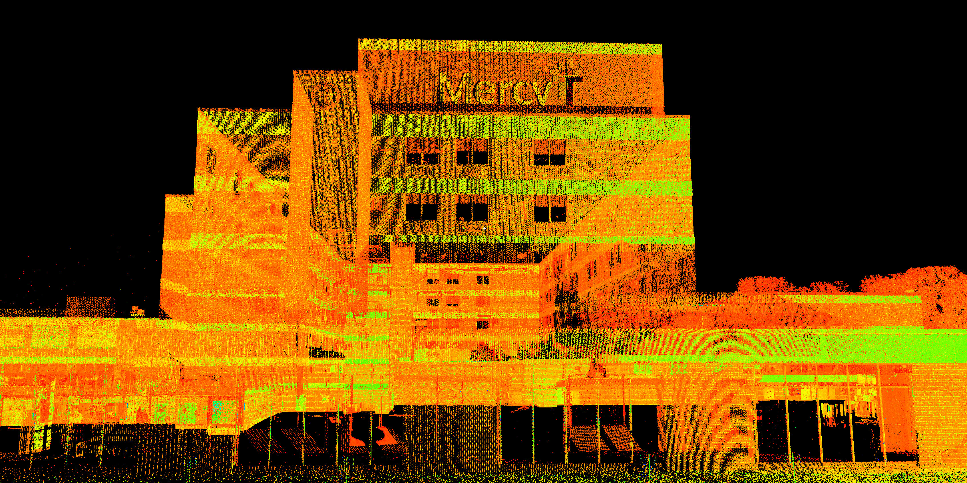 Hospital 3D Laser Scanning - Healthcare Engineering - TWM, Inc.