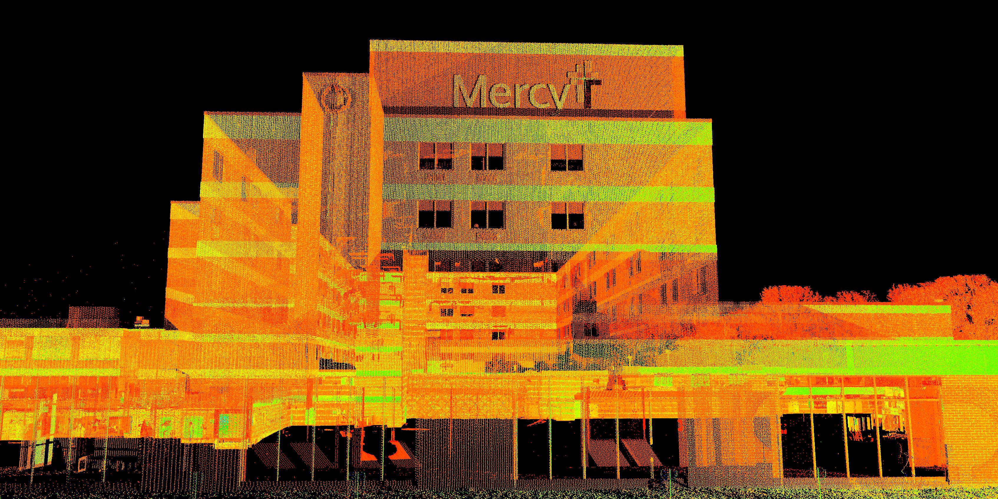 Hospital 3D Laser Scanning