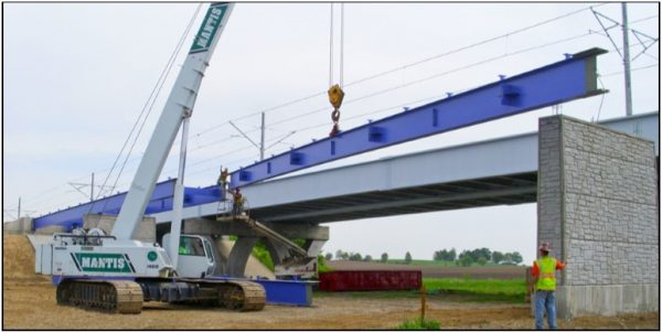 Civil Engineering - MetroBikeLink Bridge Over IL-161