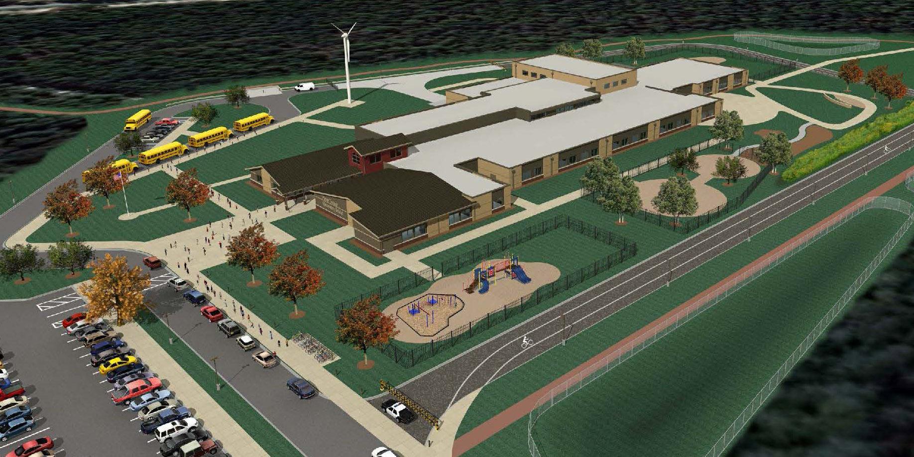 Elementary School Design-Build - Pierce Terrace Elementary School
