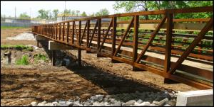 Transportation - Who We Serve - Contact Us - TWM, Inc. - Richland Creek Bikeway Trail Bridge