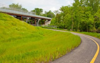 MetroBikeLink Bridge Over Norfolk Southern RR