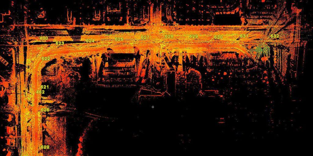 3D Laser Scanning - 3D Laser Scanning Services for MetroBikeLink Trail System