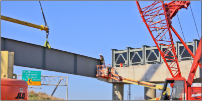 Bridge Design and Engineering - New I-70 Over I-55 and I-64 IDOT Project