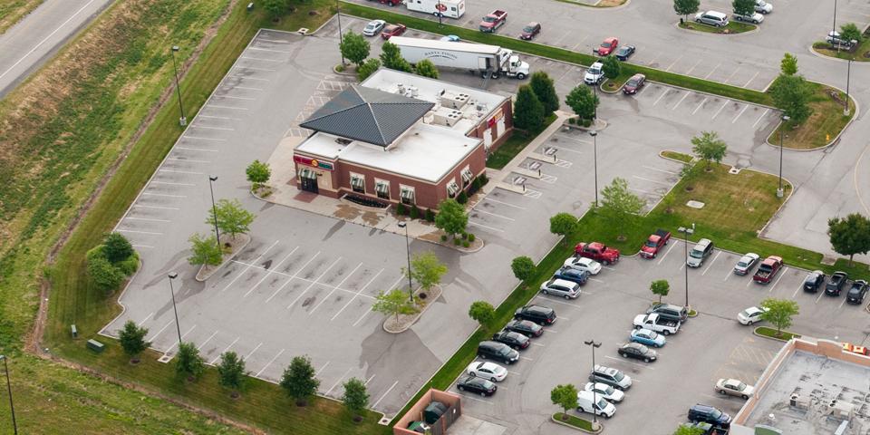 Commercial Development Design - Retail Development - TWM, Inc. - 54th St Grill - Green Mount Crossing