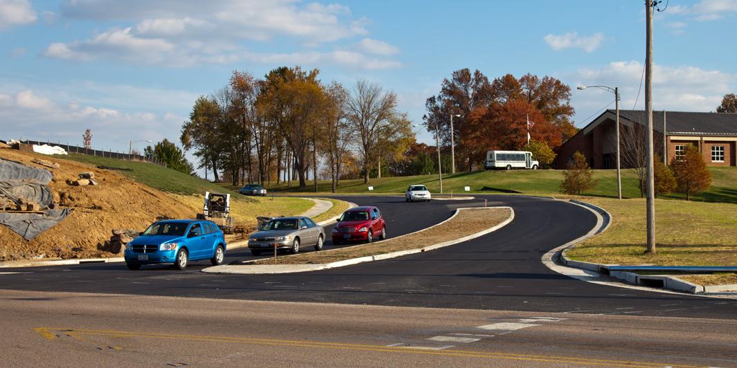 Road Intersection Design for Dapron Drive - Roadway Transportation