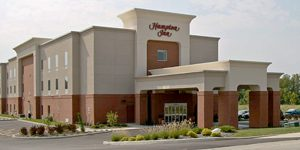 Retail Development - TWM, Inc. - Commercial Site Development Design - Hampton Inn