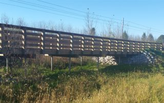 Bridge - MetroBikeLink Trail to Scott Air Force Base