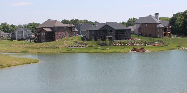 Timber Ridge Lake and Dam - TWM, Inc. - Residential Land Development