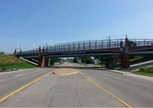 MetroBikeLink Bridge Over IL 159
