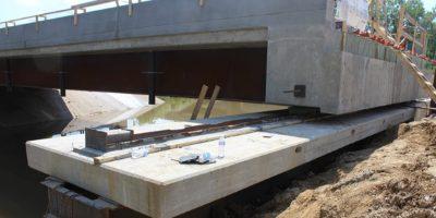 US 40 Lateral Bridge Slide