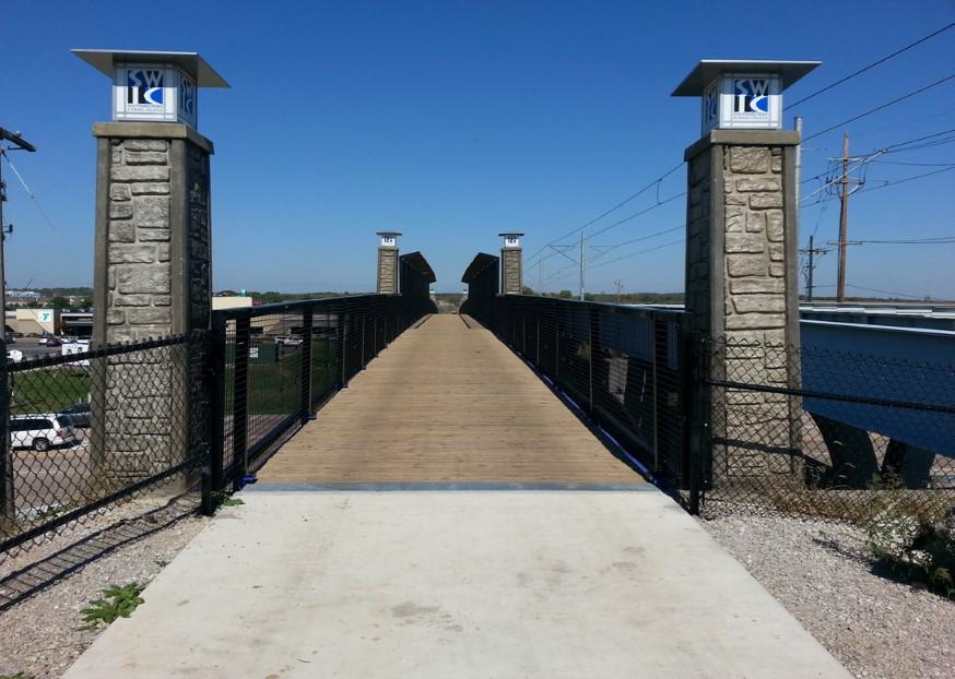 MetroBikeLink Bridge Over IL-161