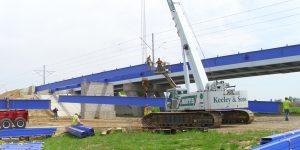 Construction Phase Engineering - MetroBikeLink Bridge Over IL-161