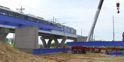 MetroBikeLink Bridge Over IL-161