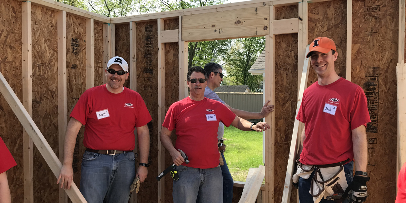 Community Involvement - TWM, Inc. - Habitat for Humanity House Building Event 2018