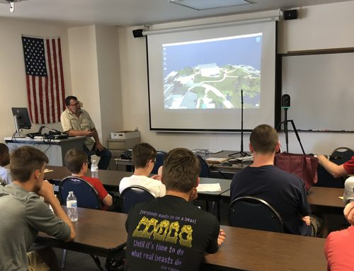 TWM Educates Students about the Benefits of Land Surveying Technology