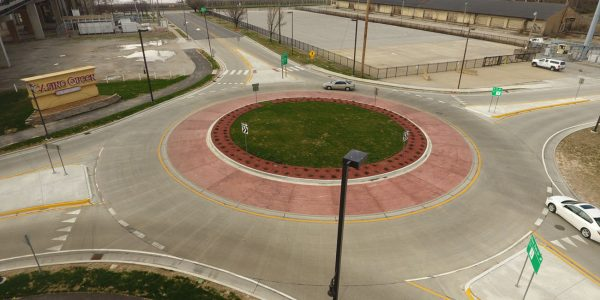 River Bridge District Roundabout