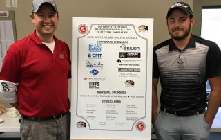 Local Surveyors Give Back at SIUE Scholarship Golf Scramble